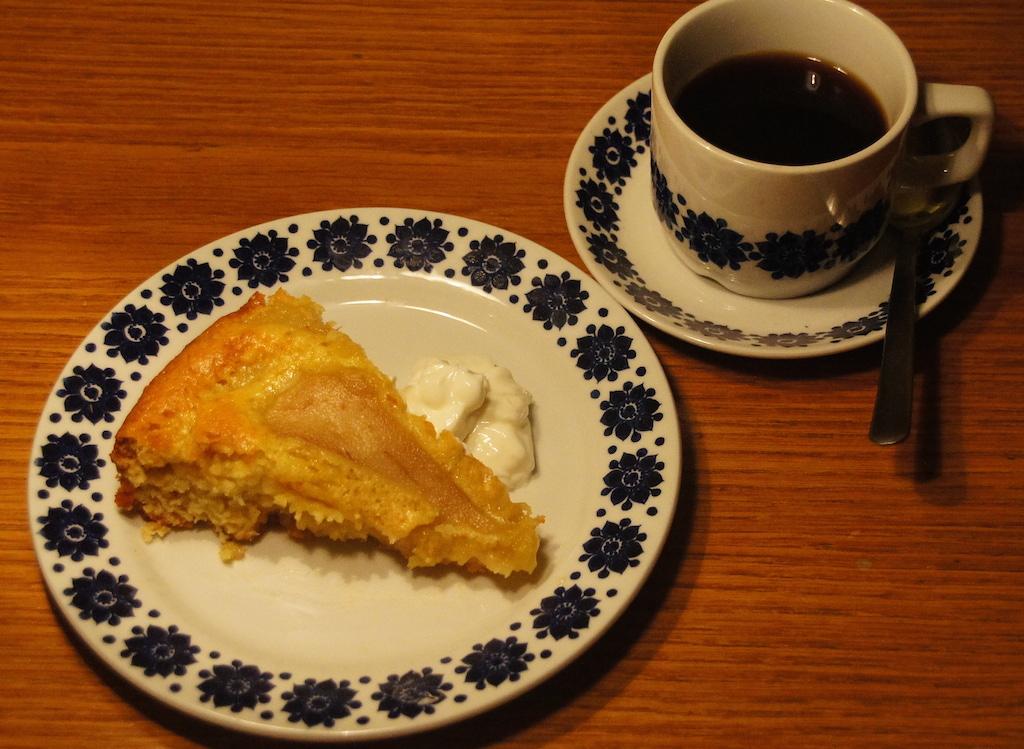Pære-marsipan kake